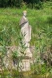Άγαλμα στο αρχαιολογικό πάρκο του Dion Πιερεία, Ελλάδα Στοκ Εικόνες