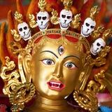 Άγαλμα στο βουδιστικό μοναστήρι στο Κατμαντού, Νεπάλ Στοκ φωτογραφία με δικαίωμα ελεύθερης χρήσης