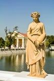 Άγαλμα στο κτύπημα PA στο παλάτι Στοκ φωτογραφία με δικαίωμα ελεύθερης χρήσης
