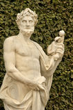άγαλμα στο πάρκο παλατιών των Βερσαλλιών Στοκ φωτογραφία με δικαίωμα ελεύθερης χρήσης