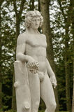 Άγαλμα στο πάρκο παλατιών των Βερσαλλιών Στοκ Εικόνα