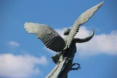 Άγαλμα στο πάρκο στο Μόντρεαλ στοκ φωτογραφίες με δικαίωμα ελεύθερης χρήσης
