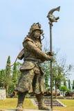 άγαλμα στρατιωτικό Στοκ Φωτογραφίες