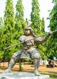 άγαλμα στρατιωτικό Στοκ Εικόνα
