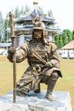 άγαλμα στρατιωτικό Στοκ Φωτογραφία