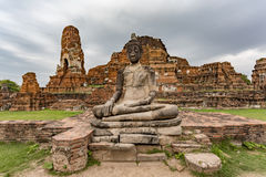 άγαλμα Ταϊλάνδη του Βούδα bangkoki mahathat wat Στοκ Εικόνες