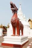 άγαλμα Ταϊλανδός λιονταριών Στοκ εικόνα με δικαίωμα ελεύθερης χρήσης