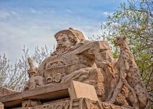 Άγαλμα της αρχαίας Κίνας Στοκ φωτογραφίες με δικαίωμα ελεύθερης χρήσης