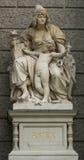 Άγαλμα της Ασίας στο μουσείο Βιέννη φυσικής ιστορίας Στοκ Φωτογραφίες