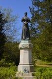 Άγαλμα της βασίλισσας Elizabeth της Ουγγαρίας σε Gödöllö Στοκ εικόνα με δικαίωμα ελεύθερης χρήσης
