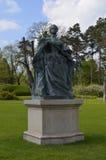 Άγαλμα της βασίλισσας Elizabeth της Ουγγαρίας σε Gödöllö Στοκ Εικόνες