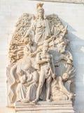 Άγαλμα της Γαλλίας Arc de Triomphe Στοκ εικόνες με δικαίωμα ελεύθερης χρήσης