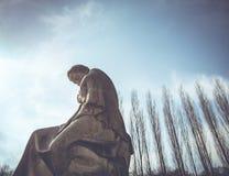 Άγαλμα της γυναίκας Στοκ Εικόνα