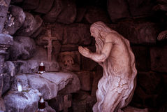 Άγαλμα της επίκλησης του ατόμου. Στοκ εικόνα με δικαίωμα ελεύθερης χρήσης