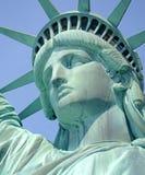 Άγαλμα της ελευθερίας, νησί ελευθερίας, πόλη της Νέας Υόρκης Στοκ εικόνες με δικαίωμα ελεύθερης χρήσης