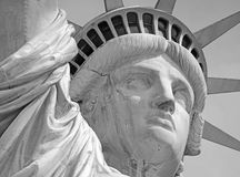 Άγαλμα της ελευθερίας, νησί ελευθερίας, πόλη της Νέας Υόρκης Στοκ Εικόνες