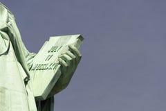 Άγαλμα της ελευθερίας, πόλη της Νέας Υόρκης Στοκ φωτογραφία με δικαίωμα ελεύθερης χρήσης