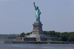 Άγαλμα της ελευθερίας - πόλη της Νέας Υόρκης Στοκ Φωτογραφία