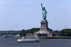 Άγαλμα της ελευθερίας - πόλη της Νέας Υόρκης Στοκ φωτογραφία με δικαίωμα ελεύθερης χρήσης