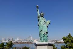 Άγαλμα της ελευθερίας σε Odaiba, Τόκιο Στοκ εικόνες με δικαίωμα ελεύθερης χρήσης