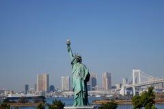 Άγαλμα της ελευθερίας σε Odaiba, Τόκιο Στοκ φωτογραφίες με δικαίωμα ελεύθερης χρήσης