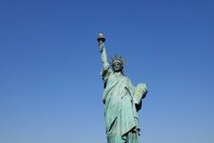 Άγαλμα της ελευθερίας σε Odaiba, Τόκιο Στοκ Φωτογραφίες