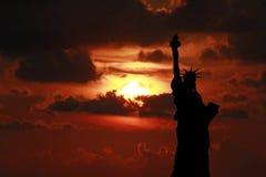 Άγαλμα της ελευθερίας Στοκ Φωτογραφίες