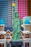 Άγαλμα της ελευθερίας Legoland, Σαν Ντιέγκο στοκ εικόνα