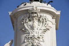 Άγαλμα της Λισσαβώνας των DOM Jose βασιλιάδων Στοκ φωτογραφία με δικαίωμα ελεύθερης χρήσης