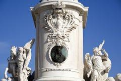 Άγαλμα της Λισσαβώνας των DOM Jose βασιλιάδων Στοκ φωτογραφίες με δικαίωμα ελεύθερης χρήσης