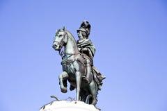 Άγαλμα της Λισσαβώνας των DOM Jose βασιλιάδων Στοκ Εικόνα