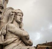 άγαλμα της Λισσαβώνας Στοκ εικόνα με δικαίωμα ελεύθερης χρήσης