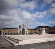 άγαλμα της Λισσαβώνας Στοκ εικόνες με δικαίωμα ελεύθερης χρήσης
