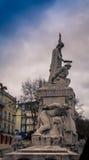 άγαλμα της Λισσαβώνας Στοκ φωτογραφία με δικαίωμα ελεύθερης χρήσης
