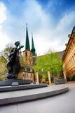 Άγαλμα της μεγάλης δούκισσας Σαρλόττα στο Λουξεμβούργο στοκ φωτογραφίες με δικαίωμα ελεύθερης χρήσης