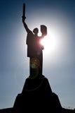 Άγαλμα της μητέρας πατρίδας στο Κίεβο Στοκ Εικόνες