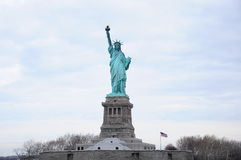 Άγαλμα της Νέας Υόρκης της ελευθερίας Στοκ Φωτογραφία