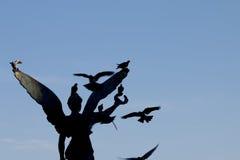 Άγαλμα της νίκης στο νησί της Ρόδου, στην Ελλάδα Στοκ φωτογραφίες με δικαίωμα ελεύθερης χρήσης