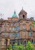 Άγαλμα της νεολαίας στο θόλο του παλαιού κολλεγίου Εδιμβούργο στοκ εικόνες