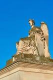 Άγαλμα της νικηφορόρης Γαλλίας από Arc de Triomphe du το ιπποδρόμιο Στοκ Εικόνες