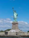 Άγαλμα της πόλης της Νέας Υόρκης της ελευθερίας Στοκ Εικόνα