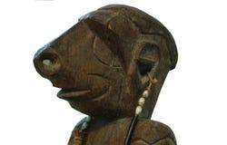 Άγαλμα της φυλής Asmat στοκ εικόνες με δικαίωμα ελεύθερης χρήσης