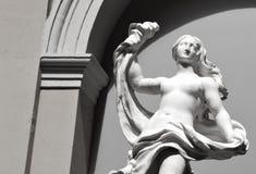 Άγαλμα της Artemis στη Βαλένθια Στοκ Φωτογραφία
