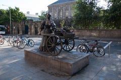 Άγαλμα της Molly Malone στο Δουβλίνο, Ιρλανδία Στοκ εικόνα με δικαίωμα ελεύθερης χρήσης