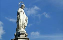 Άγαλμα της Virgin Mary (μητέρα του Θεού) Στοκ φωτογραφία με δικαίωμα ελεύθερης χρήσης