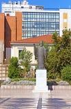Άγαλμα του Αρχιεπισκόπου της Ελλάδας Damaskinos, Αθήνα Στοκ εικόνα με δικαίωμα ελεύθερης χρήσης