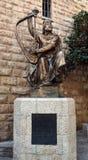Άγαλμα του βασιλιά Δαβίδ Στοκ Εικόνες