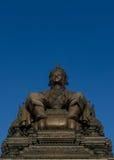 Άγαλμα του βασιλιά της Ταϊλάνδης Στοκ Εικόνες