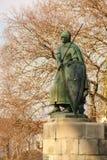 Άγαλμα του βασιλιά Afonso Henriques Guimaraes Πορτογαλία Στοκ Εικόνες