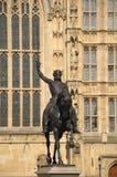 Άγαλμα του βασιλιά Richard 1$ος Στοκ φωτογραφίες με δικαίωμα ελεύθερης χρήσης